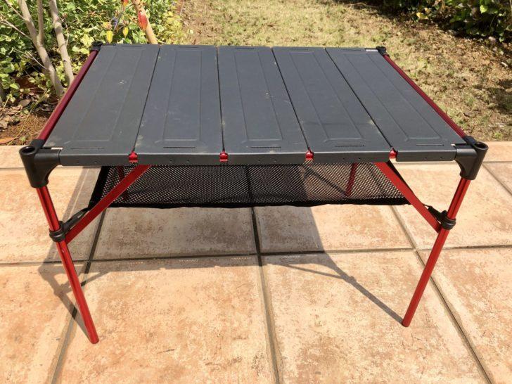 img 1065 single thum - Moon Lenceの折りたたみ式キャンプ用テーブルを使ってみて