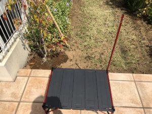 img 1067 medium - Moon Lenceの折りたたみ式キャンプ用テーブルを使ってみて